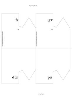 Spelling wheels - beginning and ending blends
