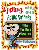 Spelling with Suffixes!  1-1-1-Silent e- Change y to i
