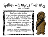 Spelling with Words Their Way Syllable Affix spellers