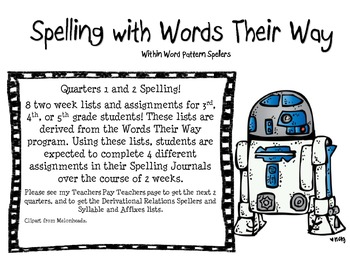 Spelling with Words Their Way: Within Word Pattern