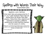 Spelling with Words their Way Derivational Relations Spellers