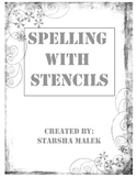 Spelling with stencils