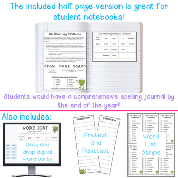 Differentiated Spelling words and Letters for Parents - 2nd Quarter