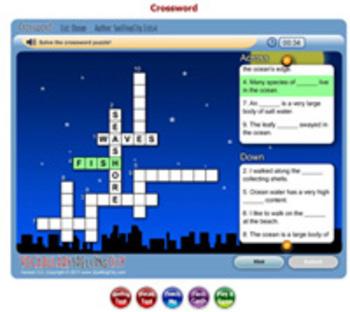 SpellingCity St. Patrick's Day Crossword