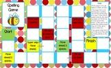 Spelling/Word Work Gameboard