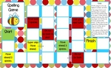 Spelling/Word Work Gameboard