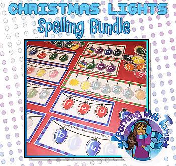 Spelling_Christmas Lights Bundle