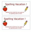 Spellling Vacation Coupon