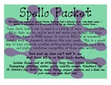 Spello Spelling Game Boards for Literacy and High Frequenc