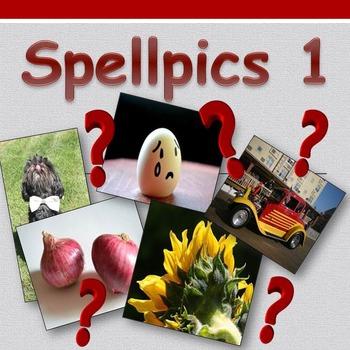 Access English: Spellpics 1 - Spelling Game