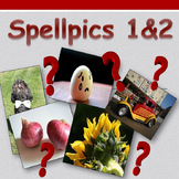 Access English: Spellpics 1&2 - Spelling Game