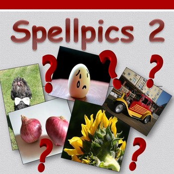 Access English: Spellpics 2 - Spelling Game