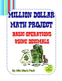 Spend A Million Dollars Math Project