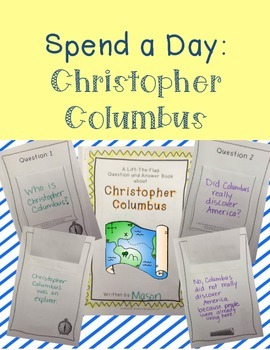 Christopher Columbus - Create a Question and Answer Book and More!
