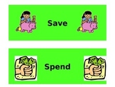 Spend or Save Sort