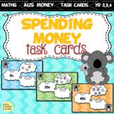 Spending Money Task Cards AUSTRALIAN COINS VERSION