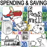 SPENDING and SAVING - Three Activities, Assessment, and Center