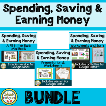 Spending, Saving and Earning Money BUNDLE