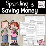 Spending and Saving Money assessment and task cards