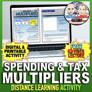 Spending and Tax Multipliers Activity