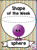 3D Shape Sphere