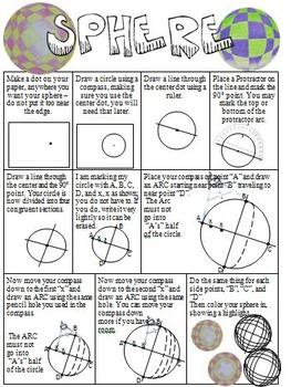 Sphere Drawing in Art