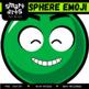 Math Sphere Emoji Clip Art