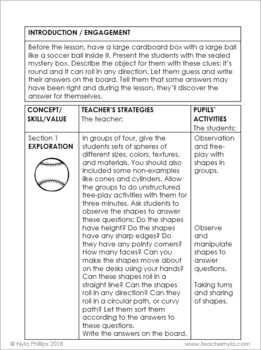 Sphere Lesson Plan
