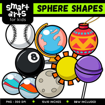 Sphere Shapes Cliparts