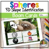 Spheres 3D Shapes Digital Game Boom Cards   Distance Learning