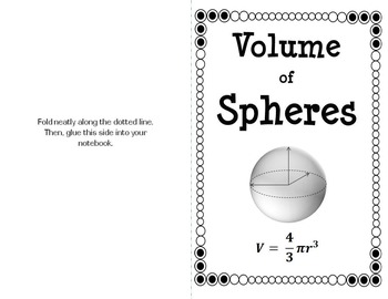 Spheres Are Sweet: A Candy-based Lesson on Volume