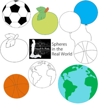 Spheres in the Real World Clip Art