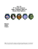 Spheres of Earth Task