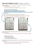 Spheres of the Earth Interactive Notebook with Groups