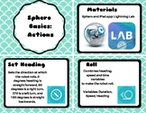 Sphero Basics: Actions Card Set