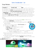 Sphero Dance Revolution Lab! (Individual or Lesson Companion Lab Sheet)