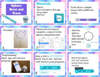 Sphero Draw and Trace Challenge *NEW!*