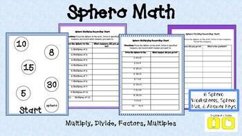 Sphero MDFM (Mulitiply/Divide/Factors/Multiples)