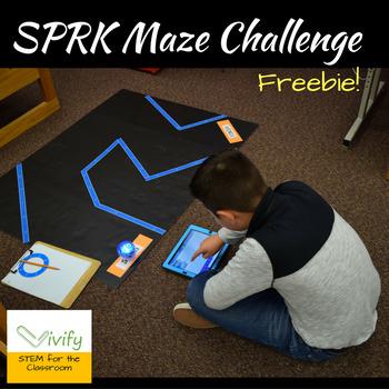 Sphero SPRK Robotics Programming Maze Challenge