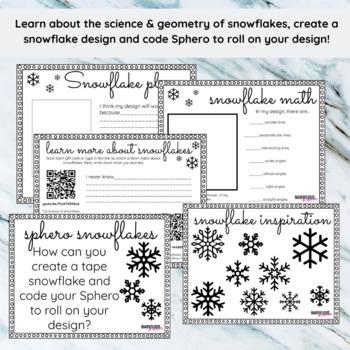 Sphero Snowflakes STEM Station