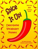 Spice It Up!  Descriptive Vocabulary Posters