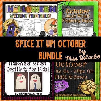 Spice It Up October Bundle