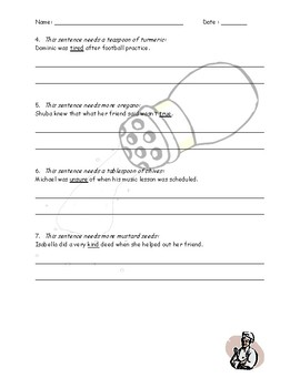 Spice It Up! (Synonyms Activity)