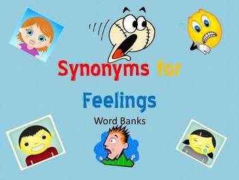 Spice Up Feelings with Synonyms