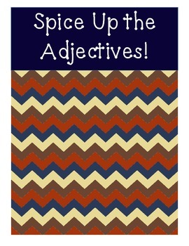Spice Up Your Adjectives Game - CC Alligned