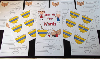 SYNONYMS {Spice Up Your Words} Interactive Bulletin Board