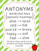 Spice Up Your Writing: Synonyms, Antonyms, and Word Choice