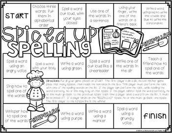 Spelling Activities & Games to use With ANY List-GROWING PACK