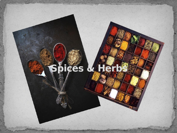 Spices & Herbs Benefits and Uses