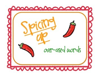 Spicing up Over-Used Words